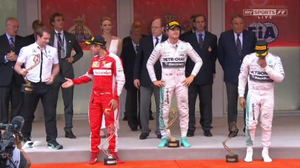 Vettel shake
