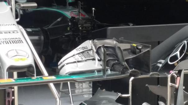Merc front wing