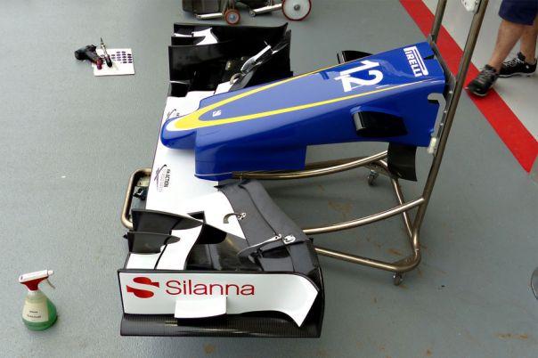 Sauber front wing short nose TGruener 2