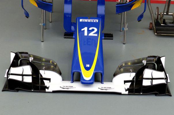 Sauber front wing short nose TGruener