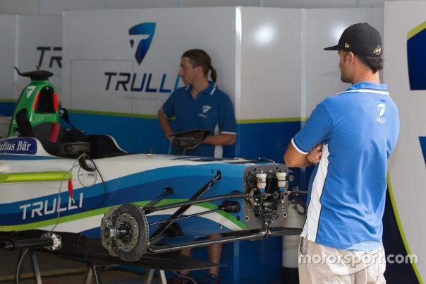 Team Trulli garage